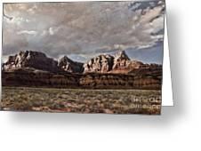 Vermilion Cliffs  Greeting Card