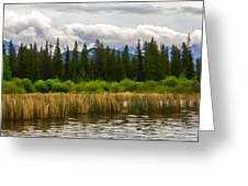 Vermilion Lakes Greeting Card