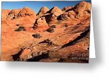 Vermilion Landscape Greeting Card