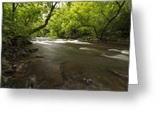 Vermillion River 1 Greeting Card