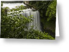 Vermillion River Falls 2 A Greeting Card