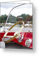 Vermont Boat Docked Greeting Card