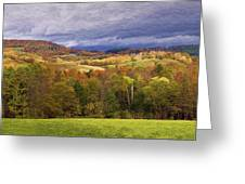Vermont Colors Greeting Card