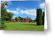 Vermont Country Home Greeting Card