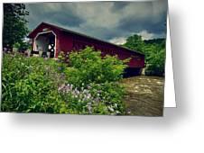 Vermont Covered Bridge Greeting Card
