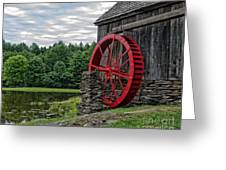 Vermont Grist Mill Greeting Card