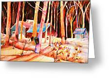 Vermont Maple Syrup Greeting Card