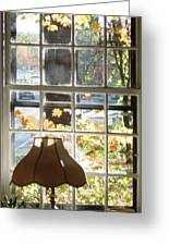 Vermont Window East View  Greeting Card