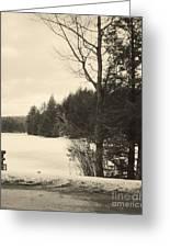 Vermont Winterland Greeting Card