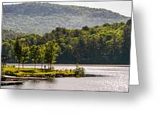 Vermonts Lake Fairlee Greeting Card