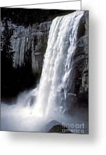 Vernal Falls Profile Greeting Card