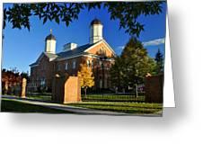 Vernal Utah Lds Temple  Greeting Card