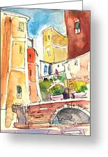Vernazza In Italy 02 Greeting Card