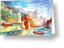 Vernazza In Italy 07 Greeting Card