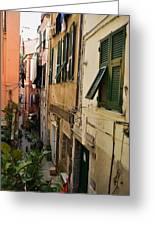 Vernazza Street Greeting Card