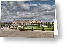 Versailles In The Afternoon Greeting Card