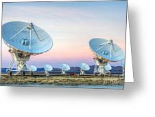 Very Large Array Of Radio Telescopes 1 Greeting Card