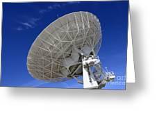Very Large Array Of Radio Telescopes 4 Greeting Card