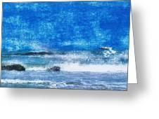 Vesterhavet The North Sea Greeting Card