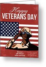 Veterans Day Greeting Card American Greeting Card
