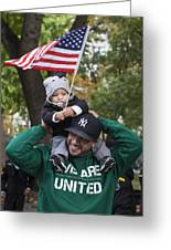Veterans Day Nyc 11_11_13 Greeting Card
