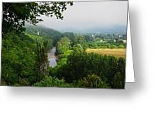 Vezere River Valley Greeting Card