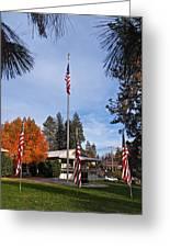 Vfw Hall Veterans Day Greeting Card