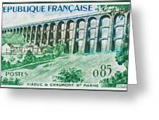 Viaduct Chaumont Haute-marne Greeting Card