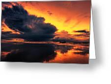 Vibrant Dawn Greeting Card by Mark Leader