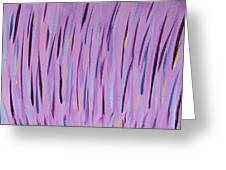 Vibrant Grass Greeting Card