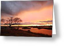 Storm At Dusk 2am-108350 Greeting Card