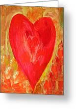 Vibrant Love Greeting Card