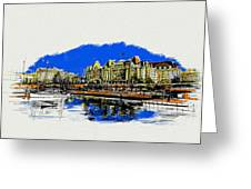 Victoria Art 011 Greeting Card