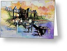 Victoria Art Greeting Card