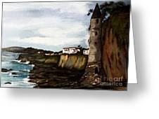 Victoria Beach Laguna Beach Greeting Card