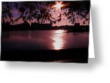 Victoria British Columbia Sunset Greeting Card