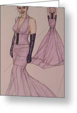 Victoria Renee's Fashions Greeting Card by Vicki  Jones