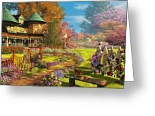 Victorian Dream Greeting Card