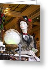 Victorian Fortune Teller Greeting Card