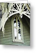 Victorian Gable St Francisville Louisiana Greeting Card