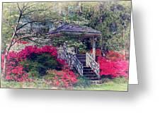 Victorian Garden Greeting Card