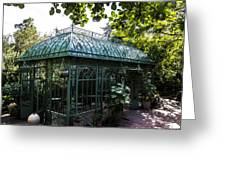 Victorian Greenhouse Greeting Card