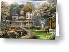 Victorian Home Greeting Card
