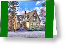 Victorian Homestead Greeting Card