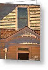 Victorian House Detail Greeting Card