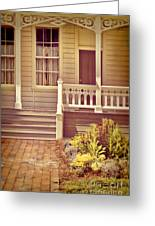 Victorian Porch Greeting Card