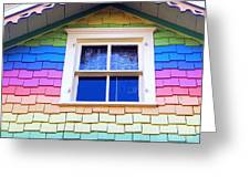 Victorian Rainbow Greeting Card