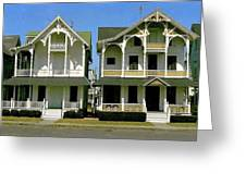 Victorians At Ocean Grove New Jersey Greeting Card