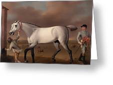 Victorious At Newmarket Greeting Card