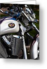 Victory 100 Cubic Inches Greeting Card